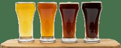 Beer tasting - Light to Dark